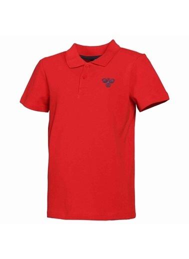 Hummel Çocuk Polo Yaka Tişört Gorzow 911279-3331 Kırmızı